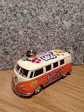 Peace & Love VW Bus Pipe Metal Smoking Weed Portable Tobacco Cigarettes Pipe