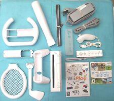 Consola Nintendo Wii Blanco Pal +14 Mini games+sport Accesorios +12 Meses De Garantía