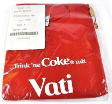 Coca-Cola Coke Daddy Camiseta roja tamaño XL Nombre de pila con