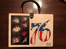 Vintage Enid Collins Original Box Bag Bicentennial