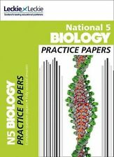 National 5 Biology Practice Exam Papers by Leckie & Leckie, Billy Dickson,...