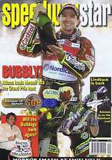 LEIGH ADAMS / BRISTOL BULLDOGS / LINDBACK Speedway Star May 17 2008