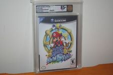 Super Mario Sunshine (Nintendo Gamecube) NEW SEALED BLACK LABEL, MINT VGA 85+!