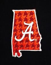 "Alabama Crimson Tide Vintage Embroidered Iron On Patch (NOS) 3"" x 2"" A1 NICE"