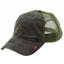 Kurtz Men's Pax Camo Charcoal Trucker Cap Hat (One Size Fits Most)