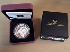 2010 $20 Holiday Pine Cones (Moonlight) Fine Silver Coin