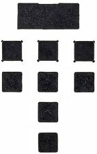 Play Station 3 [PS3] Slim Replacement Screw Port Covers [Rubber Feet]
