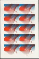 US 4954a Two Dollar Patriotic Wave $2 imperf NDC sheet MNH 2015