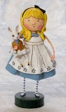 11021 Alice By Lori Mitchell Halloween Folk Art Figurine Alice Wonderland