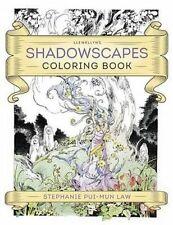 Llewellyn's Shadowscapes Coloring Book by Law, Stephanie Pui