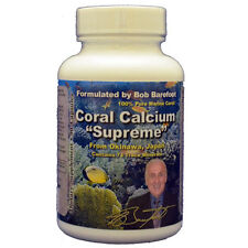 12 Bottles of Coral Calcium Supreme by Bob Barefoot