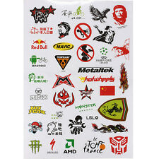 Fashion Cycling Bicycle Scrapbook Sticker BMX MTB Bike Decal Stickers