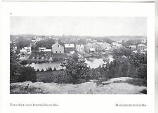 """*Postcard-""""D-T Manchester/View from Powder House Hill"""" -By-The-Sea, Mass. (#239)"""