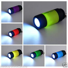 Rechargeable Waterproof Mini USB Led Portable Pocket Torch Light With Keyring
