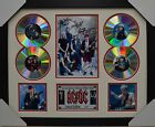 AC DC SIGNED MEMORABILIA FRAMED 4 CD LIMITED EDITION
