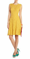 NEW BCBG MAX AZRIA GOLDEN KHLOE LACE ALLOVER DRESS NEQ6T286/M601 SZ S