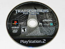 Transformers The Game Sony Playstation 2 PS2 Video Game Disc Only