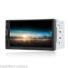 7001 7 inch Double Din 12V Car Multimedia MP5 Player Support Bluetooth Radio
