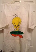 Warner Bros Tweedy Bird Baseball Russell Athletic Size XL Women