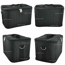 NEW Black Large Storage Makeup Nail Tech Cosmetic Box Vanity Case Bag #339