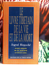 LE LIVRE TIBETAIN DE LA VIE ET DE LA MORT - Avant propos du Dalai-Lama -