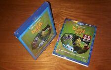 A BUG'S LIFE Blu-ray US import region a free rare OOP slipcover (Disney Pixar)