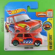 HOT WHEELS 2016 -  Morris Mini  -  HW Art Cars -  193  -  neu in OVP