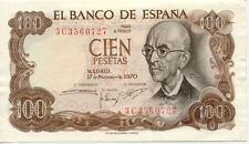 ESPAGNE SPAIN ESPANA 100 PTS 1970 état voir scan 727