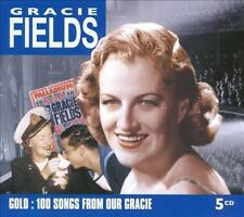 Gold: 100 Songs From Our Gracie [Box] by Gracie Fields (CD, Apr-2010, 5...