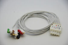 ECG EKG 5 Leads HP style wire,Grab Pinch Clip head for Philips HP Viridia Merlin