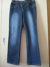 Rockmans Womens Dark Blue Denim Jeans Size 12 Straight Leg