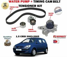FOR HYUNDAI GETZ 1.5 CRDI 12v 2003-2005 TIMING CAM BELT KIT + WATER PUMP SET