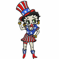 Betty Boop Magician Wizard Circus Sexy Cow Girl USA Flag Iron On Patches #C072