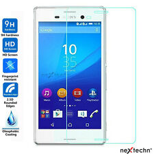 NextechnⓇ 2-Pack Tempered Glass Screen Protector for Sony Xperia M4 Aqua