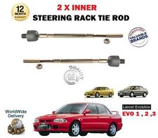 FOR MITSUBISHI EVO 1 2 3 2.0 TURBO 1992-1995 NEW 2 X INNER STEERING RACK TIE ROD