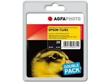 AGFA PHOTO  TWINPACK kein original T1291 2x Black for Stylus SX420 W