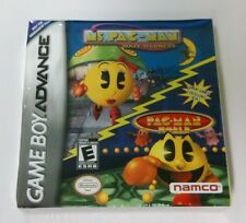 2 Games in 1  Ms Pac Man Maze Madness & Pac-Man World Gameboy Advance complete