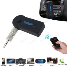 Mini Wireless Bluetooth 3.5mm Car Aux Audio Stereo Music Receiver Adapter + Mic