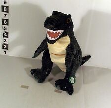"9"" ROARING / MOVING  T-REX DINOSAUR SOFT TOY - ANIMAL PLANET TV"