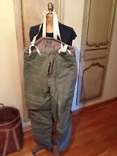 WWII Type A-9 Rare Airforce US Army Pilot Bomber Trousers Size 40