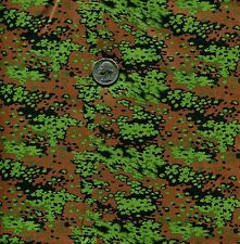 "1/6 Scale German WWII Oak Spring Dark Camouflage Model Miniature Fabric 21""x18"""