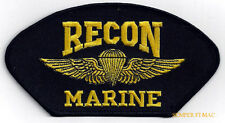 RECON JUMP WING PATCH US MARINES ANGLICO WING HAT PIN GUNNEY HIGHWAY PARACHUTE