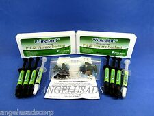 Dental Light Cure Pit And Fissure Sealant /2 Box Syringe Kit Opaque PRIME DENT