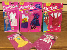 Lot of 6 * BARBIE Fashions Clothes DREAM WEAR My First DINNER DATE Fashion Finds