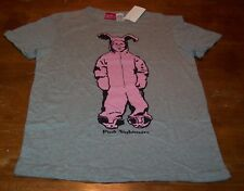A CHRISTMAS STORY RALPHIE IN PINK BUNNY OUTFIT BEDTIME T-SHIRT Size SMALL NEW