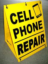 CELL PHONE REPAIR Sandwich Board Sign  A-Frame Kit NEW