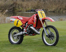 Eric Geboers 1989 Honda RC500 worksbike Photo CD vintage motocross HRC CR500