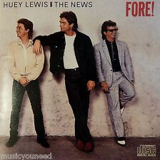 Huey Lewis & the News - Fore! (CD, 1986, Chrysalis) Made in Japan VK 41534 VG++