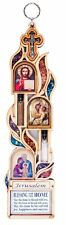 Catholic Home Blessing Wall Hanging Decor Religious Icon Blessed Holy Land Gift