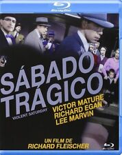 VIOLENT SATURDAY  **Blu Ray B** Victor Mature , Lee Marvin